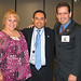 Local 1046 Melissa Sandoval & TSA HQs Chief of Staff Art Macias & Local 2617 AJ Castilla July 23 2009