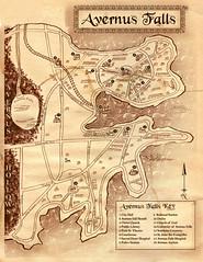 Avernus Falls Map