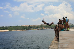 Diving From The Malecón