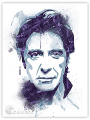 Pacino-SMD (sadmonkeydesign) Tags: photoshop al stencil godfather scarface alpacino pacino tonymontana sadmonkey sadmonkeydesign