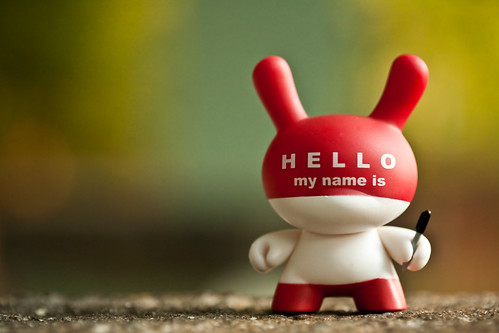 Hello My Name Is....  221/365 by bump, on Flickr