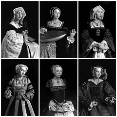 The Six Wives by Hiroshi Sugimoto (lnor19) Tags: anne jane howard katherine henry catherine kathryn aragon wax seymour wives six figures hiroshi parr sugimoto cleves boleyn