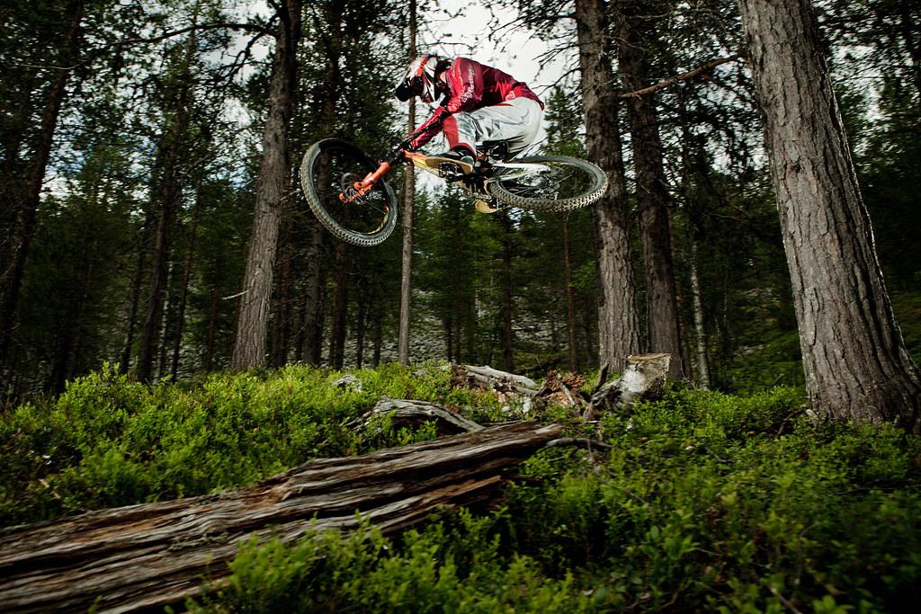 Kosti Simula - Levi Bike Park, Lapland