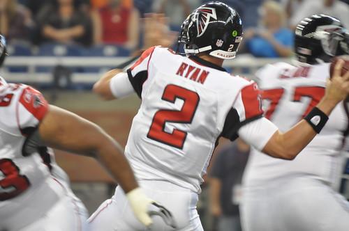 Matt Ryan back to pass
