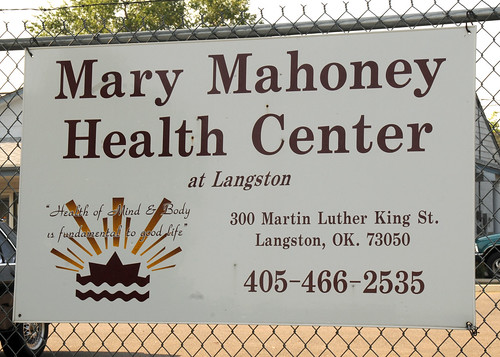 Mary Mahoney Health Center Sign