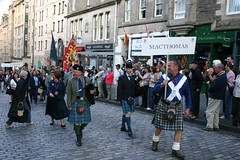 Clan MacThomas in The Clan Parade - The Gathering