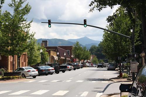 Downtown Sylva, NC