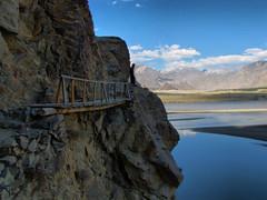 Indus River-Skardu-Pakistan (mikemellinger) Tags: bridge pakistan nature river scenery northernareas indus skardu baltistan concordians