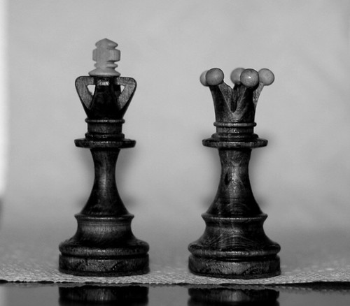 King And Queen Chess Piece Tattoo Some cool chess piece tattoos