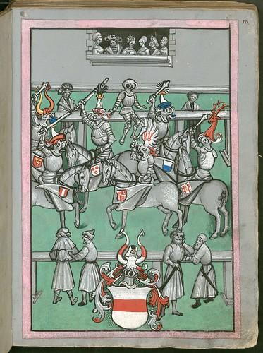 Ludwig von Eyb - Turnierbuch d
