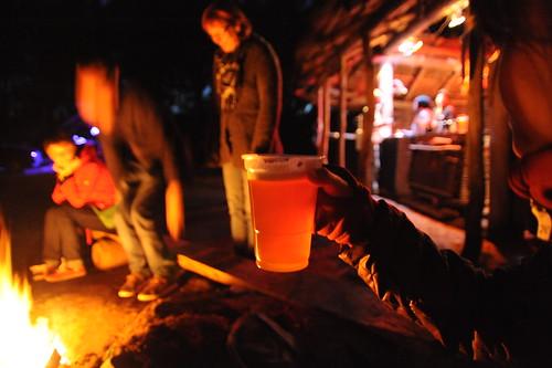 Dragonfly Barでビール!