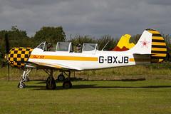 G-BXJB - 877403 - Private - Bacau Yak-52 - Little Gransden - 090830 - Steven Gray - IMG_0664
