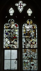 14th Century Fragments, Quinton (Aidan McRae Thomson) Tags: church window stainedglass medieval warwickshire fragments quinton