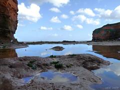 Rockpools (S R W) Tags: reflections devon rockpools naturesfinest ladram