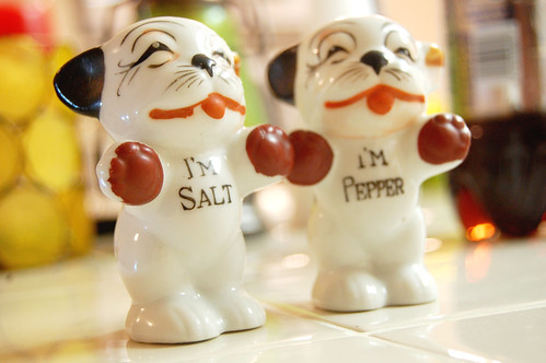I'm salt, I'm pepper