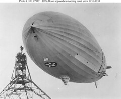 USS Akron Mooring (lazzo51) Tags: aviation science mooring usnavy blimps airships zeppelins luftschiff dirigibles ussakron zrs4