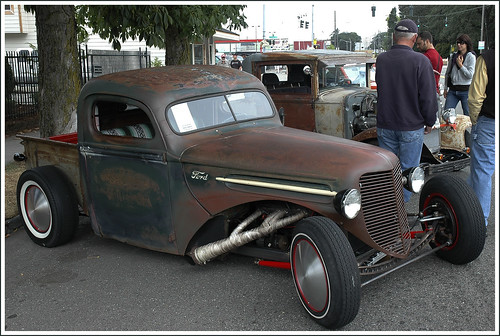 Chevrolet Pick-up 1942 Rat Rod