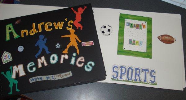 Sports Memory Books