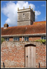 Wareham tourist centre. (dlanor smada) Tags: churches dorset brickwork wareham