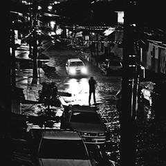 Immortal (yltsahg) Tags: street shadow people urban man silhouette dark citylife surreal ghosttown 1855mm cinematic 2009 squared rainynight 500x500 filmlike distortedmind printsavaliable unrealandraremoments