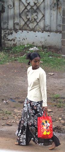 Micky en Addis (Etiopía)