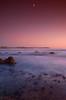 high moon... (djgr) Tags: sea moon beach sunrise geotagged manly sydney australia nsw geo:lat=33799272 geo:lon=151297225