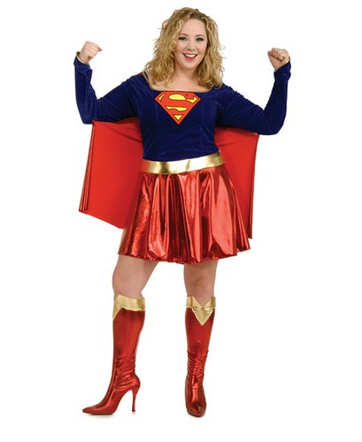 ... curvy super powers with this style of sexy plus size Halloween costumes.