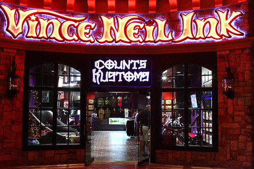 A First Look at the New Vince Neil Ink at Rio   Las Vegas Blog