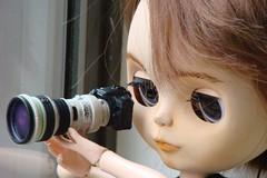 VINNIE - Testando a lente