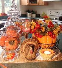 Fall Kitchen Display