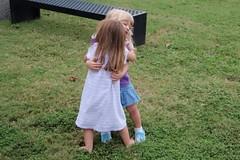 toddler hug