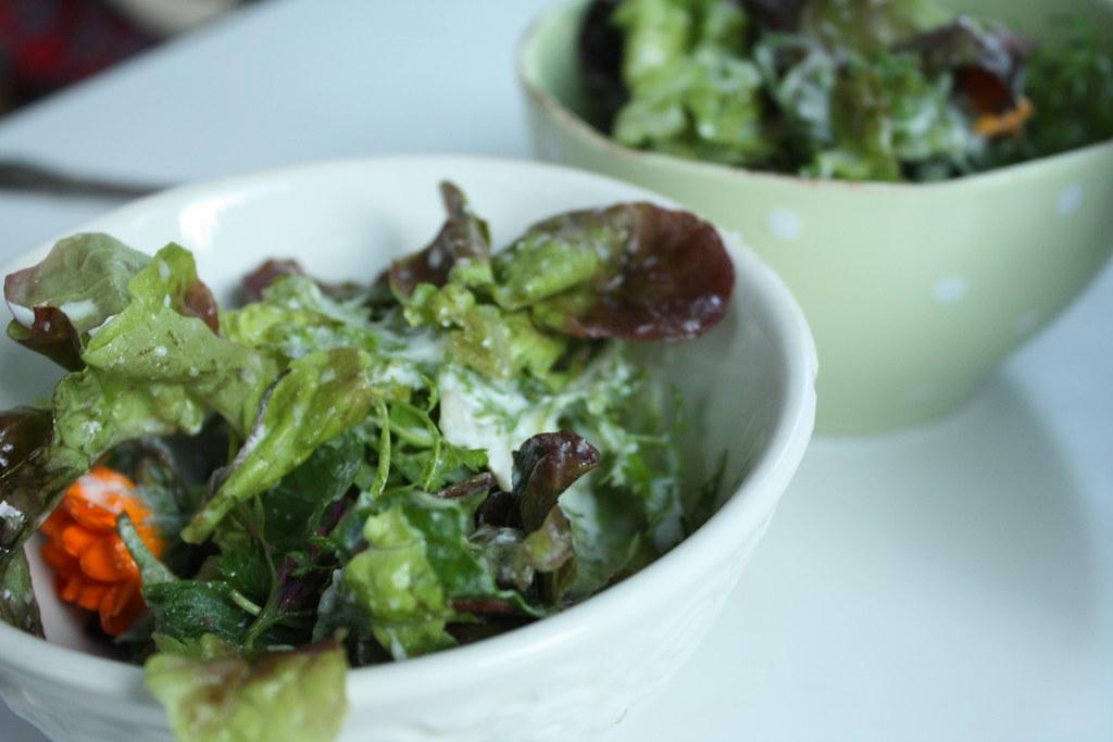 Obwohl ich keine Salat Esserin bin!