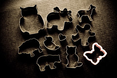 grungy cookie farm (ion-bogdan dumitrescu) Tags: bear pink man black bird animal metal cat butterfly dark duck cookie sheep heart background shapes moose deer plastic biscuit human owl shape cutter cutters bitzi ibdp mg0197edit findgetty ibdpro wwwibdpro ionbogdandumitrescuphotography