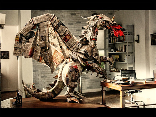 Check Out This Beautiful Origami Dragon
