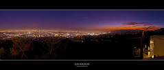 Los Angeles Sunset Panorama (pascalbovet.com) Tags: sunset panorama usa night losangeles observatory bluehour griffithparkobservatory losangelesdowntown losangelessunset losangelesnight sunsetpanorma