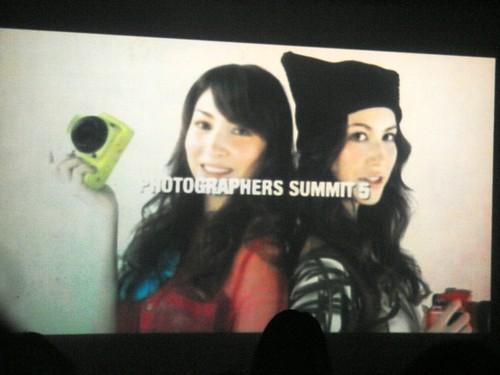 Photographers Summit 5 opening movie with pentax K-x