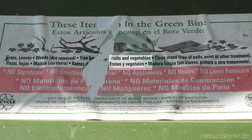 L.A. Green Bin