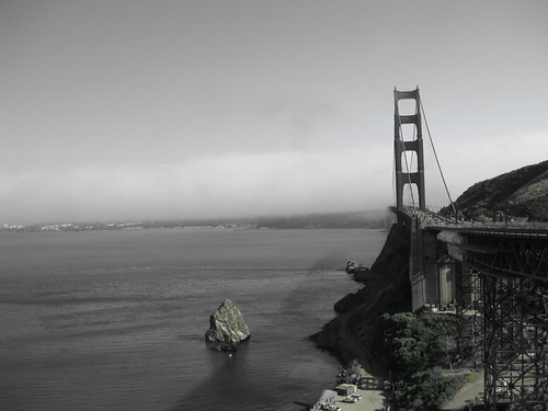 golden gate bridge black and white. Golden Gate Bridge San Francisco Black and White