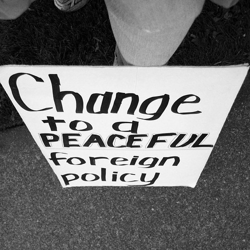 Change to a Peaceful Foreign Policy