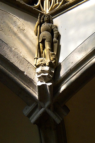 Wall Statue, St. George Church, Nordlingen