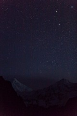 (jonmartin ()) Tags: pakistan mountain stars long exposure areas northern rakaposhi hunza karimabad
