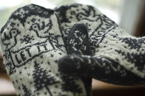 Snowbird Mittens