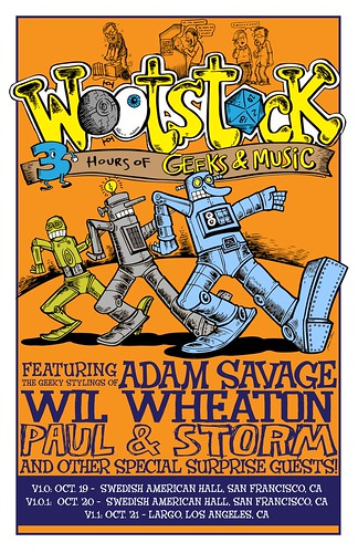 The first w00tstock poster