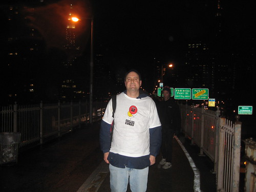 "Leukemia & Lymphoma Society ""Light The Night"" Walk On Brooklyn Bridge by you."