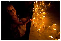 Light a candle of hope - II [..Dhaka, Bangladesh..] (Catch the dream) Tags: colors girl look night festive religious lights candles child darkness top religion bongo dhaka festivity diwali gaze bengal festivaloflights bangladesh bangladeshi hindus happydiwali dipavali gettyimagesbangladeshq2