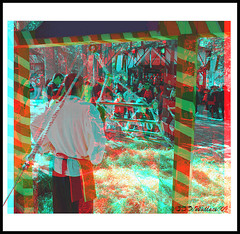 Maryland Renaissance Festival '09 (starg82343) Tags: trees boy english festival festive fun outside outdoors costume actors stereoscopic 3d kid md woods village child crafts brian maryland kingdom manipulation fair anaglyph rope medieval climbing event stereo fantasy wallace faire ladder annual festivities effect period dressed renaissance challenge hamlet outing crownsville wench pretend realm throughthewindow stereoscopy wooded jacobsladder stereographic ttw popout brianwallace bestoutdoorevent