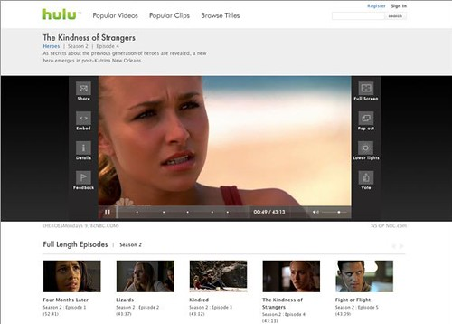 Hulu Linux Desktop