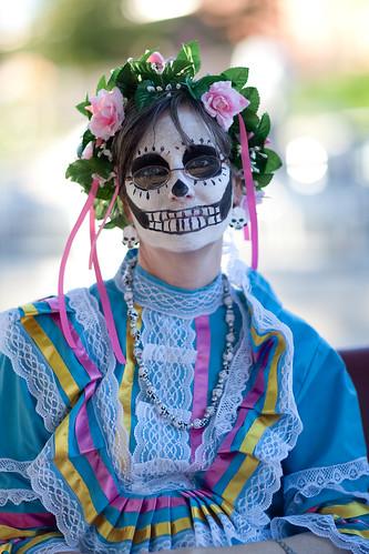 Dia de Los Muertos Austin 2009-37