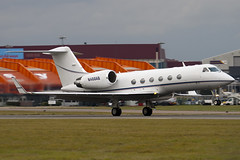 N468AB - 1477 - Private - Gulfstream IV - Luton - 091022 - Steven Gray - IMG_2775