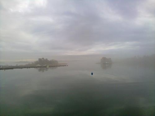 Fog in Keilalahti